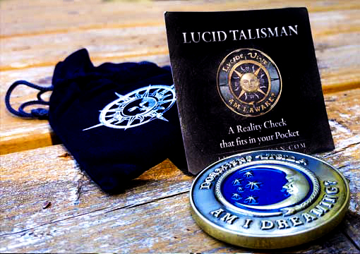 Lucid Talisman Lucid Dreaming Aid Reality Check OBE